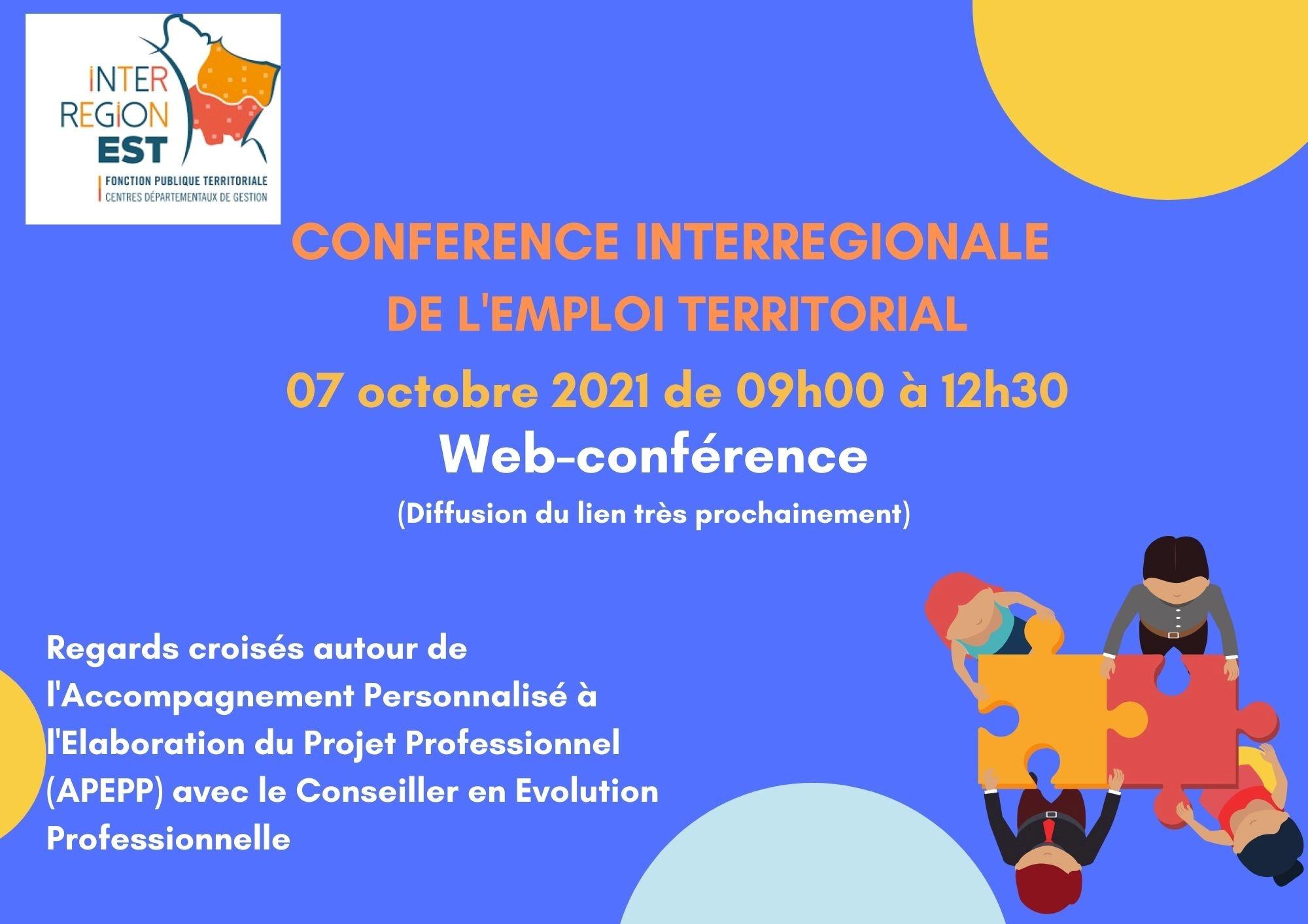 Conférence Interrégionale de l'Emploi Territorial